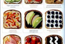 Brilliant sandwich art