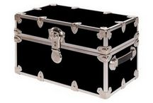 Dorm Room Trunks and Footlockers for College / College trunks and footlockers are one of those multipurpose essentials for dorm room living to be used as secure storage, extra seating & for travel between campus and home