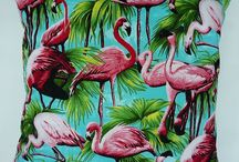 Flamingo Pillows / by Dianne Holwell