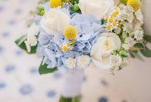 Yellow & Blue Wedding Inspiration