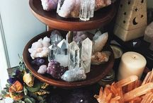 Crystals. / They heal the soul✌