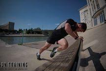 Les exemples du Coach SUN TRAINING / Quelques exemples d'exercices Urban Training proposés par Jérémy Bon le coach.