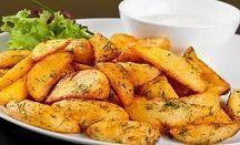 fokhagymás sült krumpli