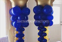 Colunas de balão