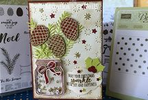 Christmas Pines Stamp Set & Thinlets
