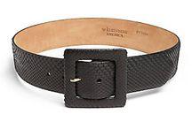 Jill black waist belt