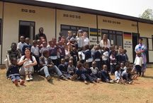 """""""Amies de Dieu"""" und """"Les Génies"""" /  In den Vorschulen """"Amies de Dieu"""" in Kigali und """"Les Génies"""" in Ntarama können Kinder in einem angenehmen Umfeld gemeinsam lernen und spielen."""
