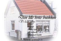 Den lille hvite butikken