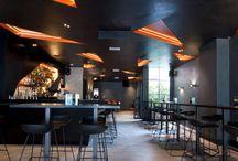 Restaurant Waalwijk (Mint) / De 100% Minerale gietvloer is bij Mint te Waalwijk toegepast. Deze vloer geeft een stoere uitstraling van Beton en is slecht 3mm dik.