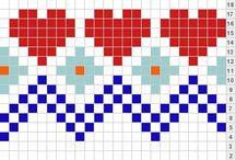 Haken Mochila / Tapestry and Mochila techniek