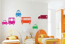 Kids room toy decor