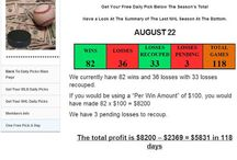 Sports Betting Systems / Some sports betting systems constantly making profits.