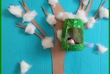 boom met nesthokje
