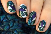 I Love These Nail Art Designs / So many pretty manicures! I love to get inspiration for future manicures and for my overseas Jamberry customers, give them something to think about designing with the Nail Art Studio.