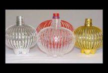 recycle plastic bottles  art, arte con botellas recicladas