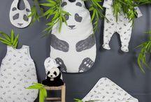 Thème Panda - Textile de chambre Natalys