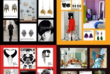 Mod Inspiration Board: Fashion & Style / Interpreting the 60's trends on the catwalks 2012