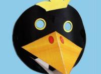 BRICOLAGE à l école / Tout ce qu' on peut faire à l' école pour le plaisir des enfants: affiches, masques e.t.c