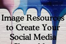 Images for social media / Find sources, tips & tricks and ideas for images to share on your #socialmedia