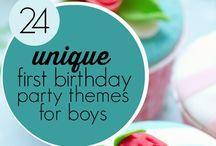 first birthday ideas/ birthday party ideas