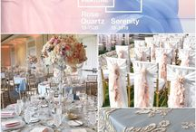 Pantone 2016 - Rose Quartz + Serenity Light Blue / Pantone Color of the Year 2016  Rose Quartz + Serenity Light