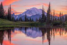 Landscapes / Photographs of landscapes in colour.
