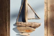 Coast Art / Art inspired by the coast/beachcombing items