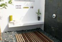 out door bath