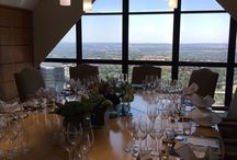 Wine & Food pairing. / Pascal El Azzi from Villiera and Domaine Grier Wines hosted a Wine & Food pairing for the RMB Infrastructure Finance Team and their clients. Unforgettable wine & food experience for everyone with an amazing view!