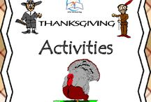 Thanksgiving Math and Literacy Activities / Thanksgiving Math and Literacy FUN! This comprehensive activities resource includes a variety of Thanksgiving activities including nonfiction reading, writing, math activity, and a authors purpose game.