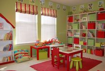 Aweome playrooms / by Johnna Baldwin Machan