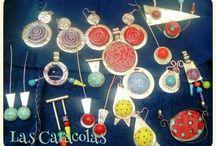 ceramica y joyeria las caracolas / ALPACA Y CERÁMICA. ARTISTA ANA POLET/ CERAMICA Y JOYERIA LAS CARACOLAS
