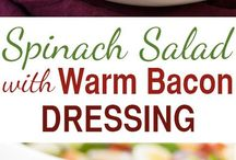 bacon dishes salads