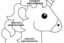 molde unicorni