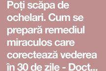 vederea - tratament