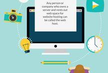 WEB: hosting page design