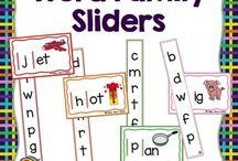 word sliders