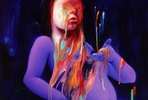 Art Attacks - Michael Page / Paintings by Michael Page