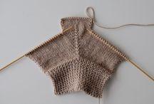 Mezzi guanti lana