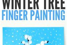 Activité hiver artistique