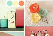 Say it with color - color combinations for weddings / Color combinations to consider for your wedding / by Where To Start, Wedding Management