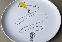 Κεραμικά Πιάτα