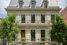 Lincoln Park Transitional Home / Lincoln Park Transitional Home. This 12,000 sf single family home designed by Kaldec Architecture + Design and built by BGD&C in Lincoln Park boasts classical French style architecture with limestone façade, lavish exterior gardens and roof deck. With over 50 different types of tile and stone, this project and its multitude of details is a true example of strict quality control. Photos by Tony Soluri. | BGD&C Custom Homes, Chicago, IL. http://bgdchomes.com/