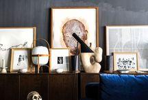 dark grey walls interior design