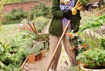 moda w ogrodzie