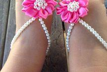 Baby barefoot sandals DIY my new hobby!