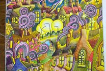 Colouring - The Magical City