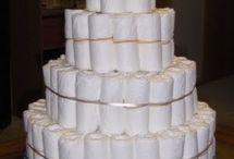 Tarta de pañales y similares