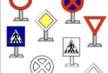 dopravné značky a aktivity