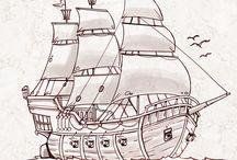 vzhuru na palubu